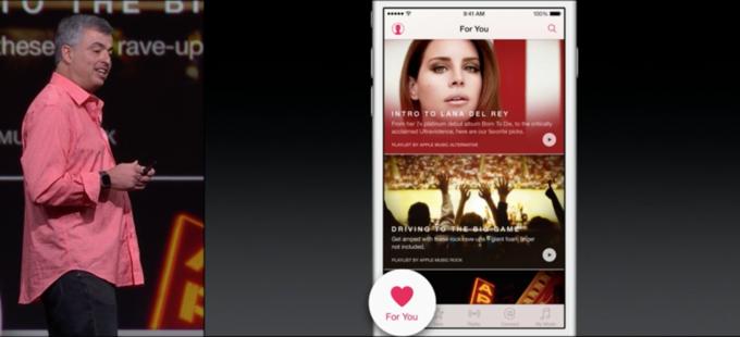 На WWDC представили потоковый сервис Apple Musiс. Изображение № 5.