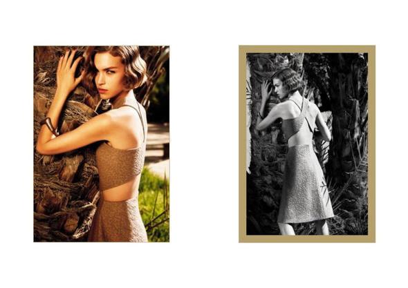 Изображение 13. Рекламные кампании: Yves Saint Laurent, Chanel и другие.. Изображение № 26.