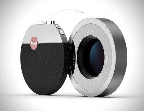 В сети появился концепт мини-камеры Leica с Bluetooth. Изображение № 1.