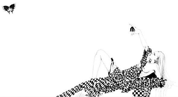 Katsuta Mako – черно-белая грация. Изображение № 3.