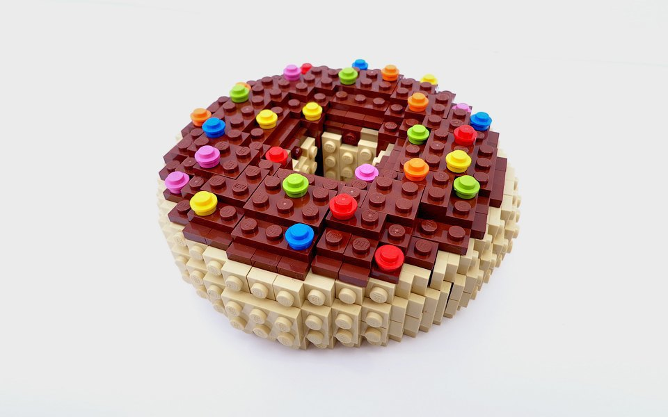 Как выглядит еда, сделанная из LEGO. Изображение № 7.