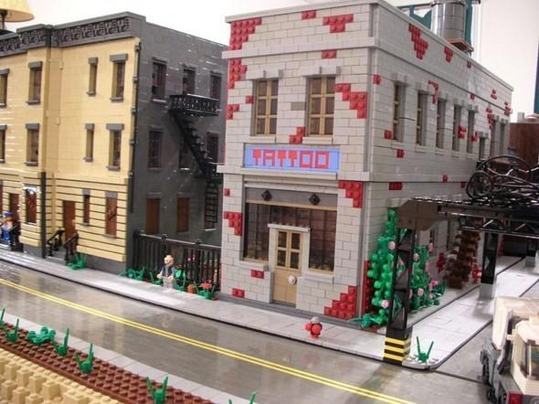 Изображение 12. Улицы Нью-Йорка из конструктора LEGO.. Изображение № 12.