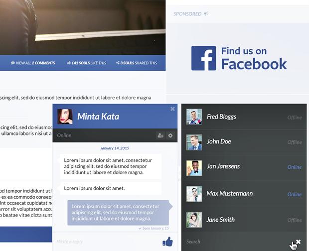 Редизайн дня: полностью новая веб-версия Facebook. Изображение № 17.