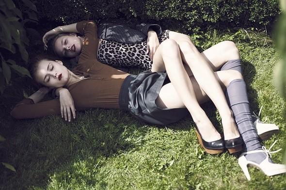 """Саша Самсонова и сестры Токарчук:""""Кто поверит в тебя, если не ты сам?"""". Изображение № 18."""