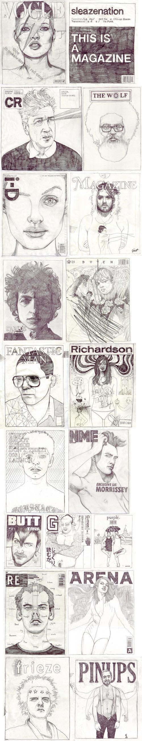 Иллюстрированные обложки журналов. Изображение № 1.