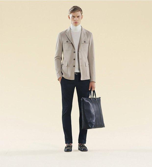 Показаны новые лукбуки Gucci, Louis Vuitton и Prada. Изображение № 42.