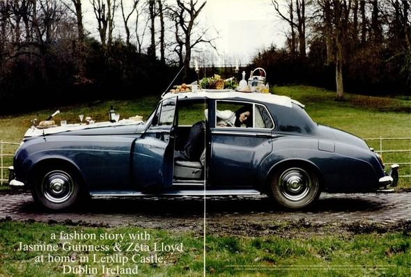 Архивная съёмка: Тим Уокер для итальянского Vogue, 2001. Изображение № 6.