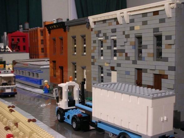 Изображение 11. Улицы Нью-Йорка из конструктора LEGO.. Изображение № 11.