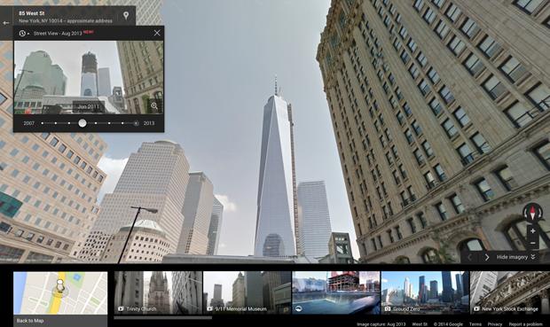 Сервис Google Maps позволил возвращаться в прошлое. Изображение № 2.