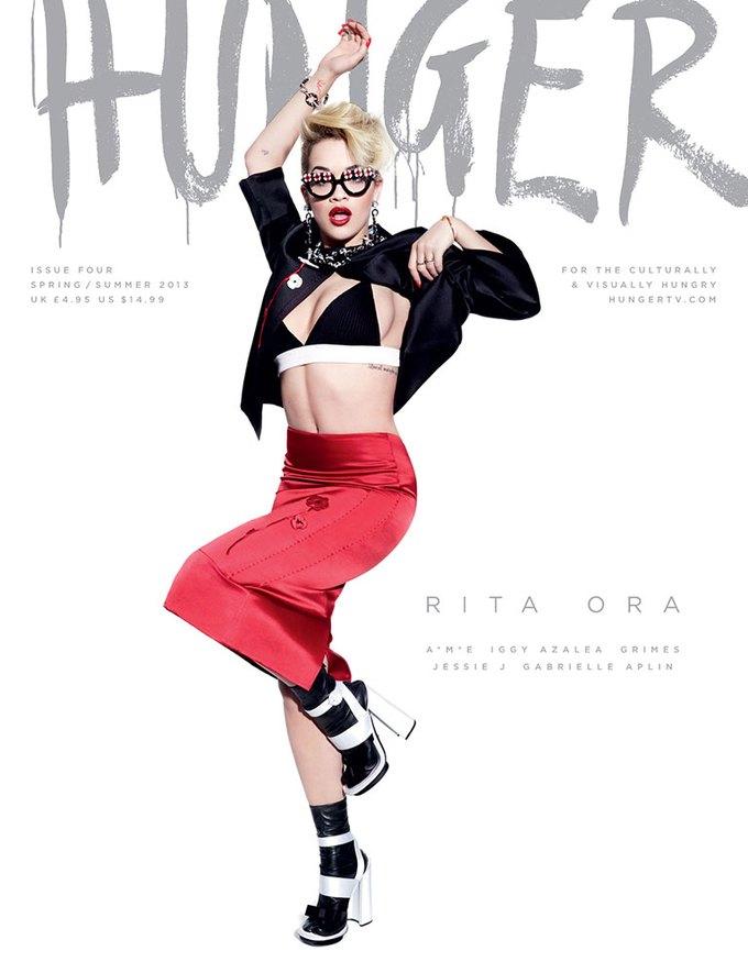 Показаны новые обложки Interview, T и Vogue. Изображение № 6.