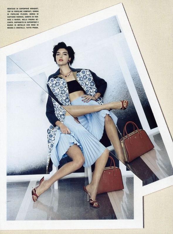Съёмки: Стивен Майзел и Паоло Роверси для итальянского Vogue. Изображение № 24.