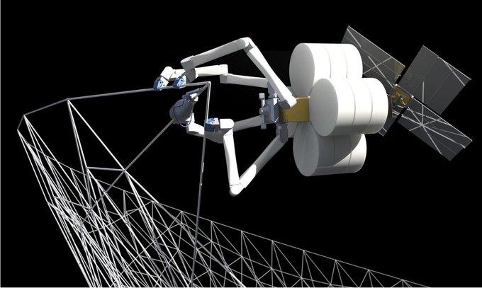 НАСА будет печатать корабли на земной орбите. Изображение № 1.