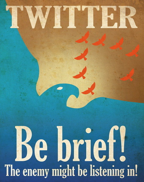 Социальные сети в постерах. Изображение № 2.