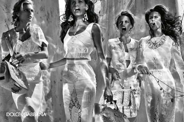 Изображение 18. Рекламные кампании: Lanvin, Prada, Balenciaga и другие.. Изображение № 23.