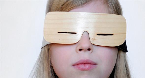 Узкоглазые деревянные очки. Изображение № 4.