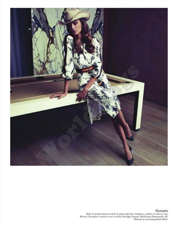 Съёмка: Дарья Вербова для французского Vogue. Изображение № 6.