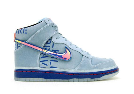 Nike Dunk High Premium QS All-Star 2012 Pack. Изображение № 4.