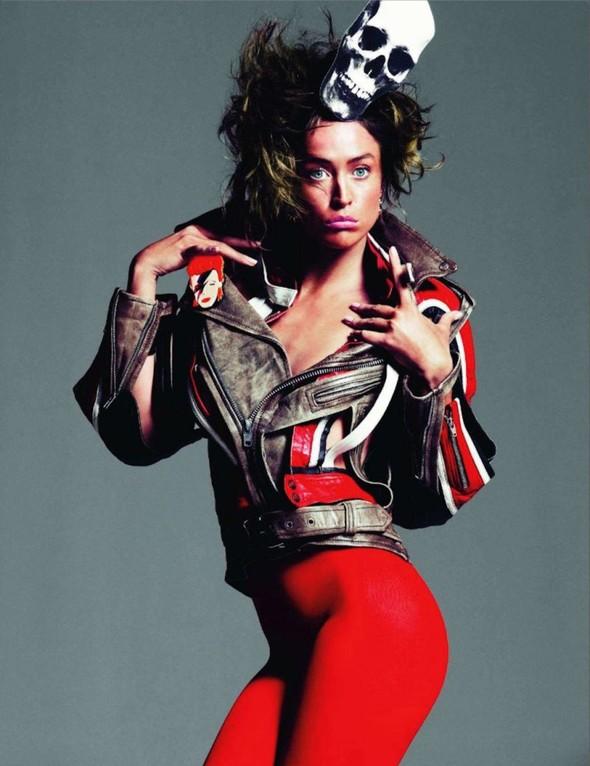 Съёмка: Ракель Зиммерманн для Vogue. Изображение № 9.