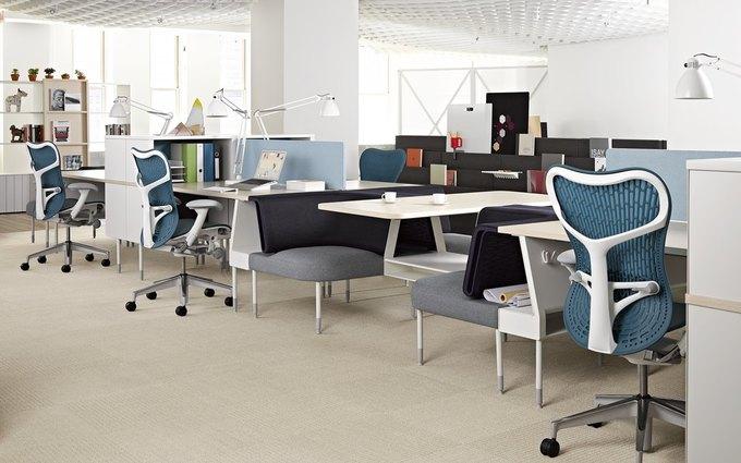Herman Miller начал выпуск «гибкой» офисной мебели Ива Беара. Изображение № 4.