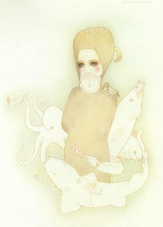 Детский иллюстратор Lilly Piri, любительница конвертов. Изображение № 10.