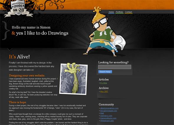 Персонажи в дизайне сайтов. Изображение № 9.