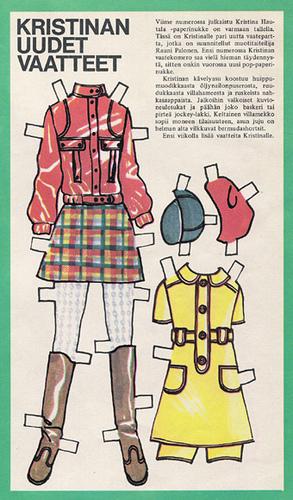 Бумажные куклы 1960-х годов!. Изображение № 10.