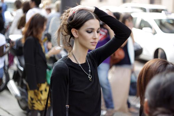 Milan Fashion Week: Модели после показов. Изображение № 1.