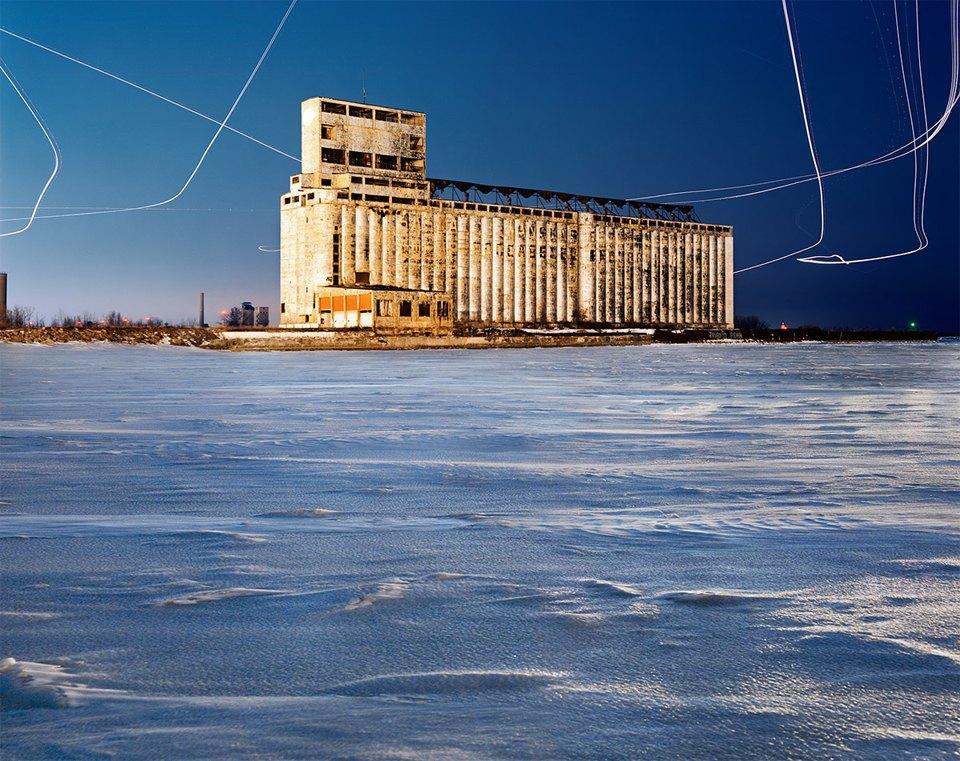 Фабрики из хоррора: ночная индустриальная фотография. Изображение № 9.