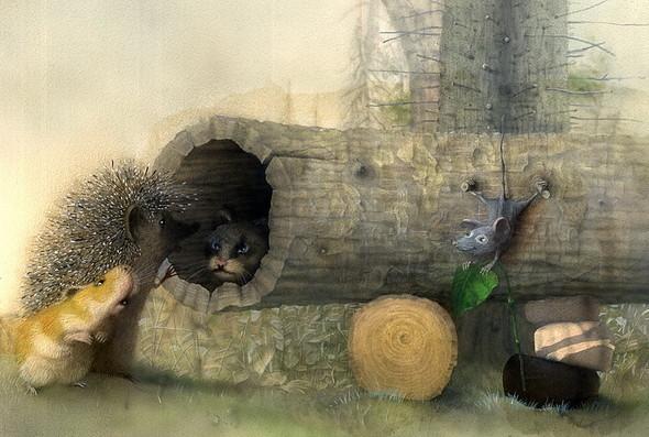 Художник - иллюстратор Гукова Юлия. Изображение № 5.