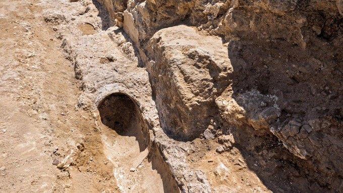 В Иерусалиме обнаружили фрагмент древнего водопровода . Изображение № 1.