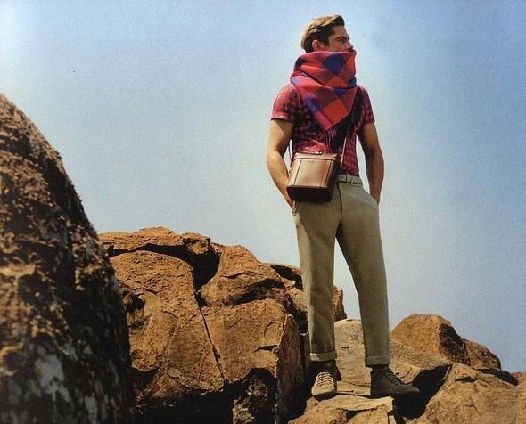 Кампания: мужская коллекция Louis Vuitton SS 2012. Изображение № 13.