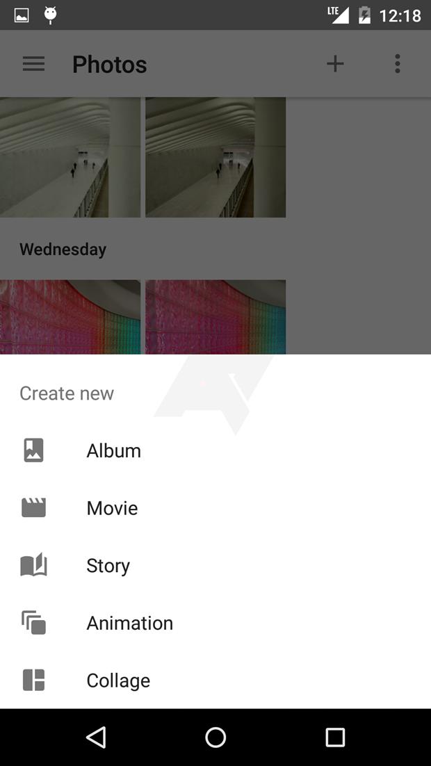 СМИ выложили скриншоты приложения Google для фотографий . Изображение № 12.