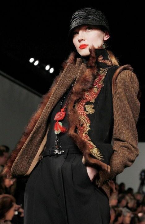 Изображение 15. Неделя Моды в Нью-Йорке. New York Fashion Week.. Изображение № 4.