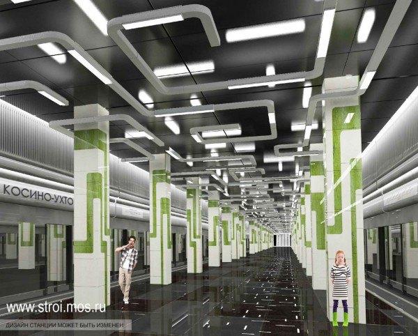 Опубликованы видеотуры по будущим станциям московского метро. Изображение № 2.