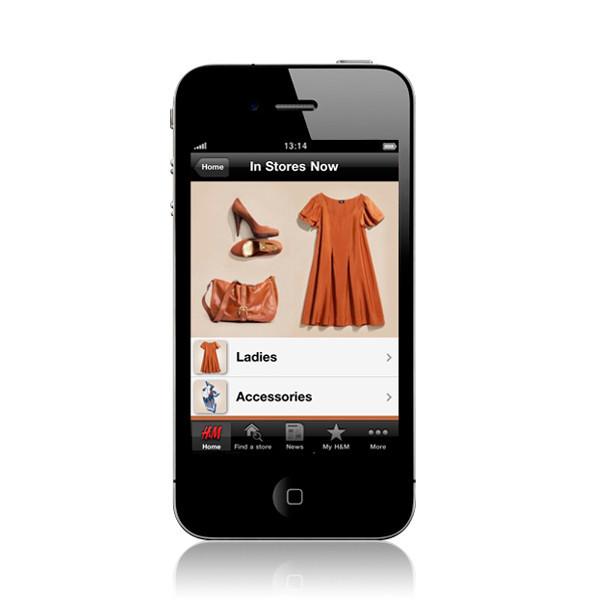 Изображение 1. У H&M появилось приложение для iPhone.. Изображение № 1.