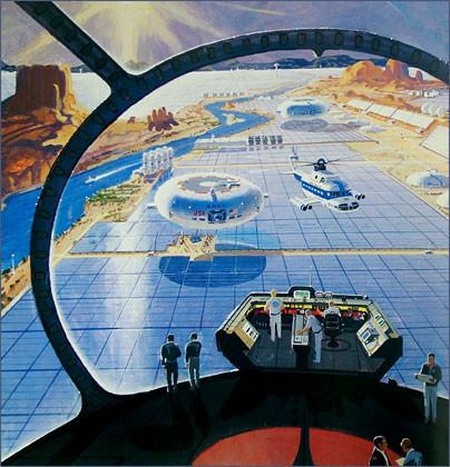 Каким было будущее. Космореализм Роберта МакКолла. Изображение № 21.