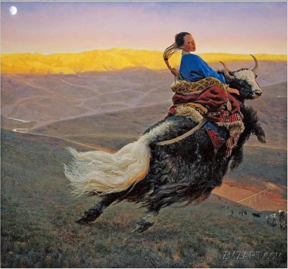 Wang Yi Guang. Feitain, или летающий пух. Изображение № 2.