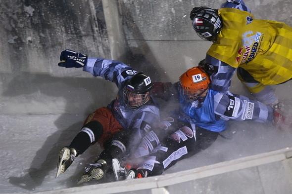 Изображение 13. Финляндия взяла реванш в Москве 26 февраля (Red Bull Crashed Ice 2011).. Изображение № 13.