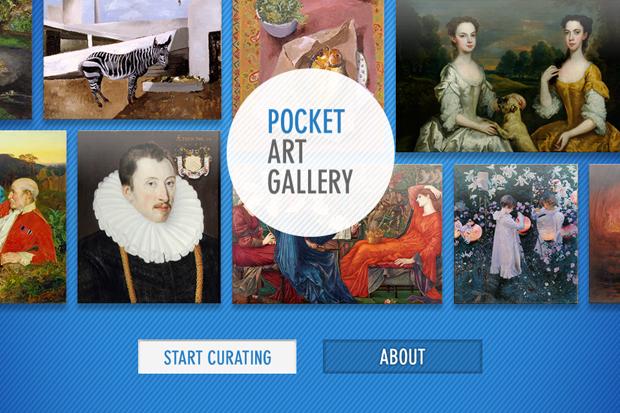 Приложение галереи Тейт для iPhone позволяет стать куратором. Изображение № 1.