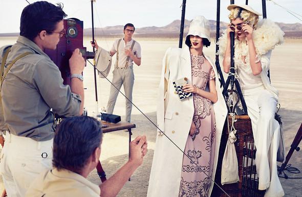 Съёмки: Elle, i-D и Vogue. Изображение № 19.