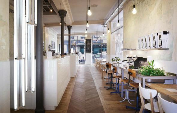 На скорую руку: Фаст-фуды и недорогие кафе 2011 года. Изображение № 58.