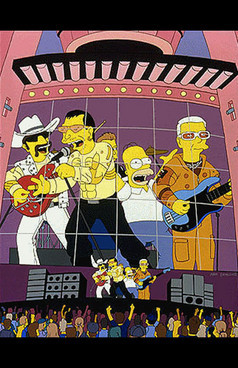 Bands to watch in Simpsons. Изображение № 33.