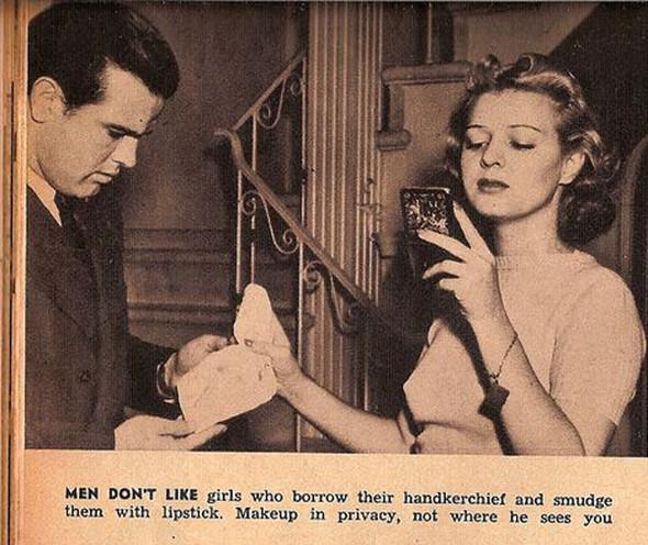 Как завоевать мужчину, вырезки из журнала 1938 года. Изображение № 3.