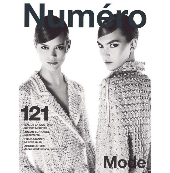 Изображение 3. Обложки: Numero, POP и Vogue.. Изображение № 1.