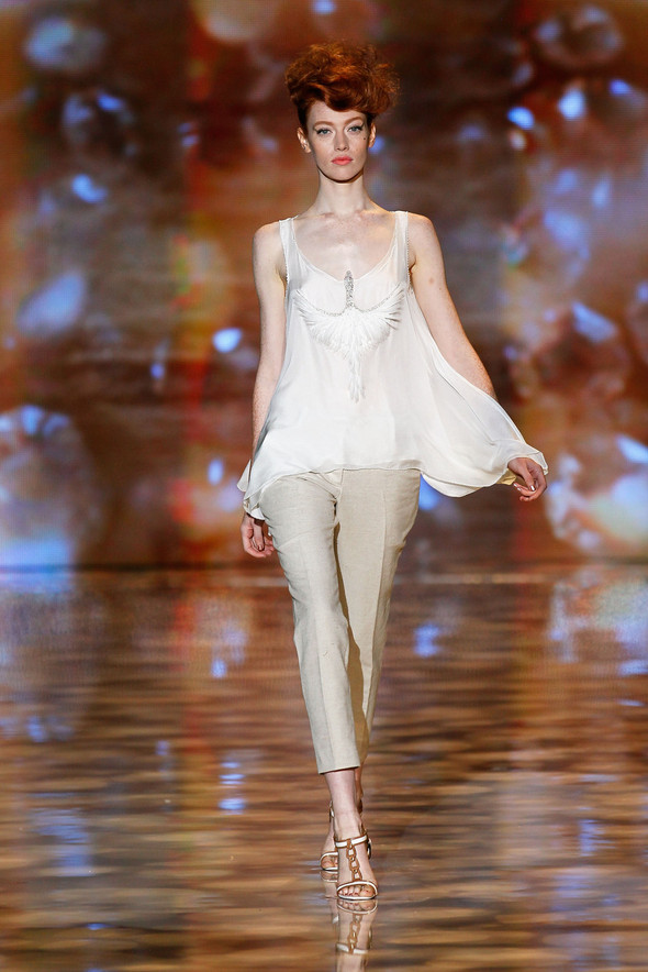 New York Fashion Week: Badgley Mischka Spring 2012. Изображение № 7.