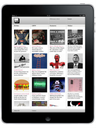 Журнал Creative Review сделал приложение для IPad. Изображение № 4.