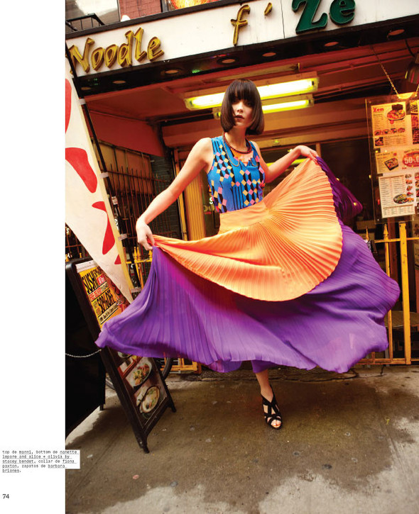 Новые съемки: Vogue, Nylon и другие. Изображение № 5.