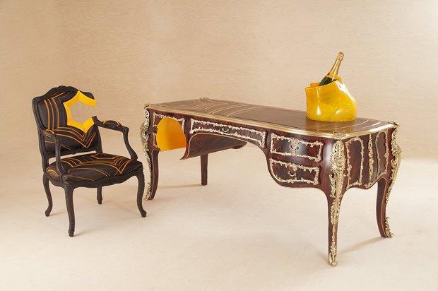 Глитч-мебель: красивые компьютерные ошибки в интерьере. Изображение № 45.