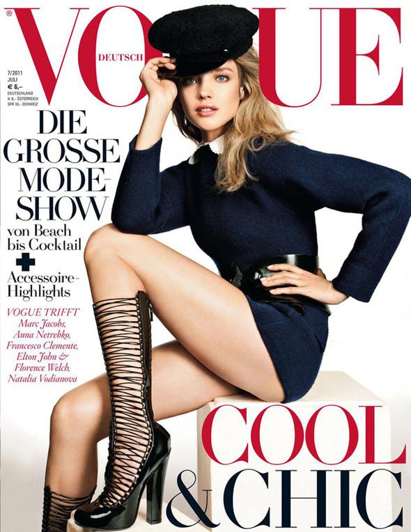 Изображение 2. Обложки Vogue: Россия и Германия.. Изображение № 2.