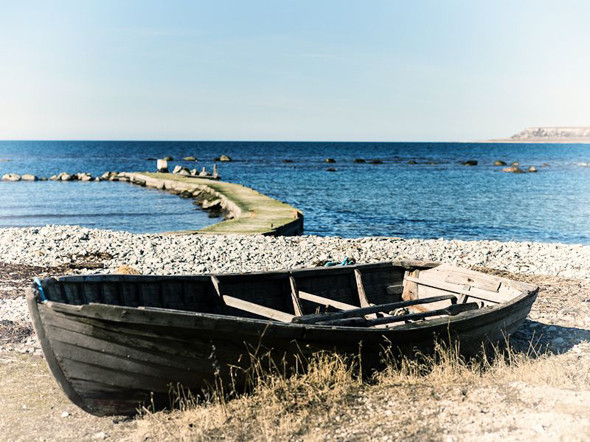 Побережье Екстакустена и вид на остров Малый Карлсё. Изображение № 78.